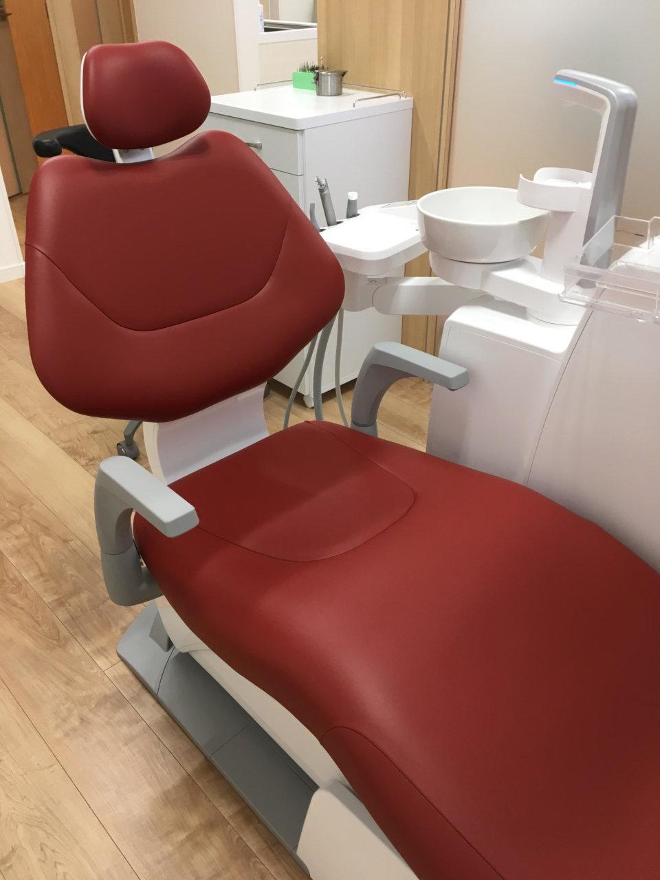診療用の椅子が新しくなりましたの画像